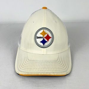 ✨3/$25✨NFL Pittsburg Steeler Mesh Back Fitted Cap